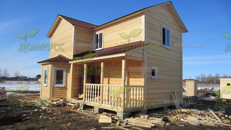 Фотогалерея деревянных домов, фото деревянной бани из бруса .