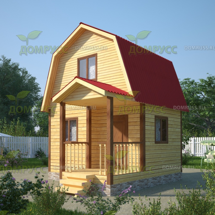 Проект домика 4х5