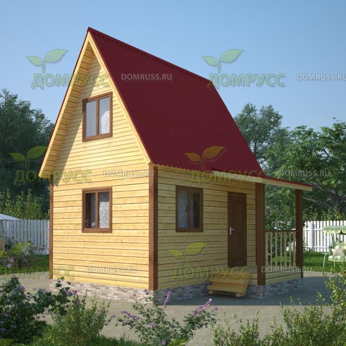 Дачный дом 4х5 проект