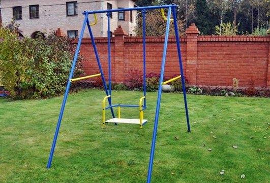 Детские качели для площадки