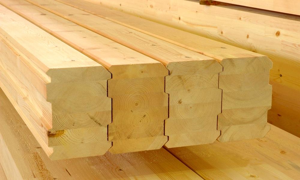 профилированный брус - материал для постройки бани