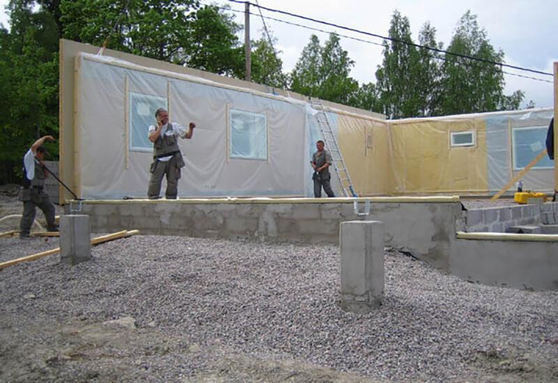 финские каркасные дома