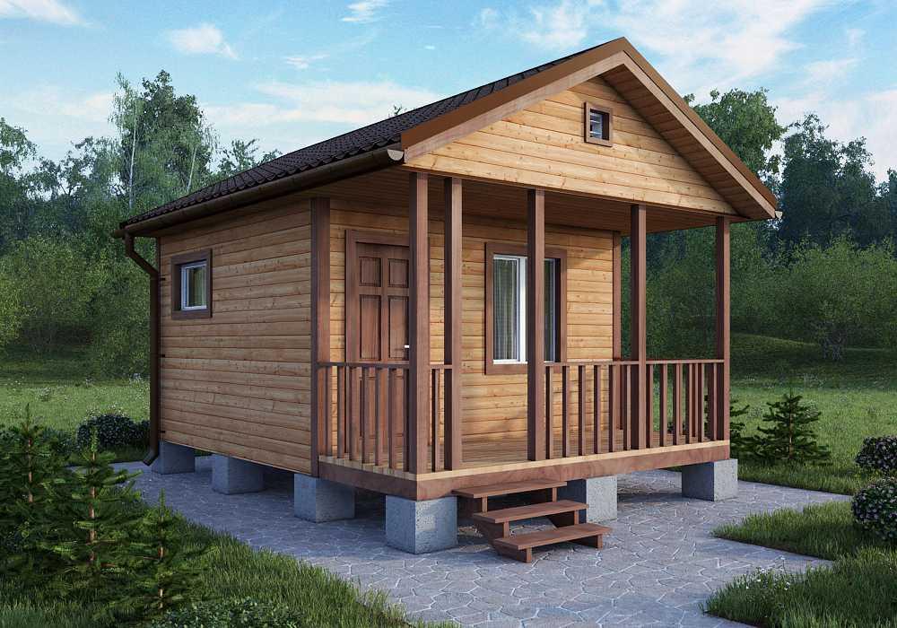 Дачный домик для участка