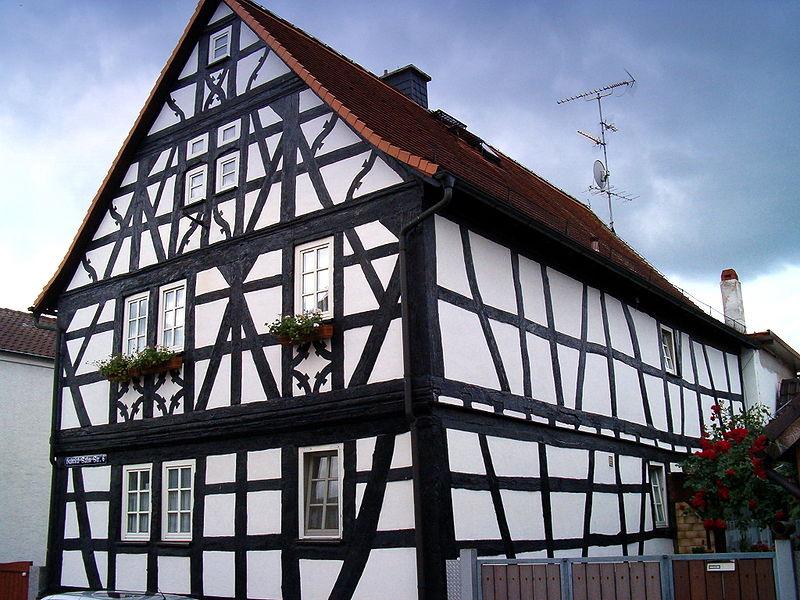 Немецкий дом по технологии фахверк
