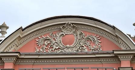 Лучковый фронтон
