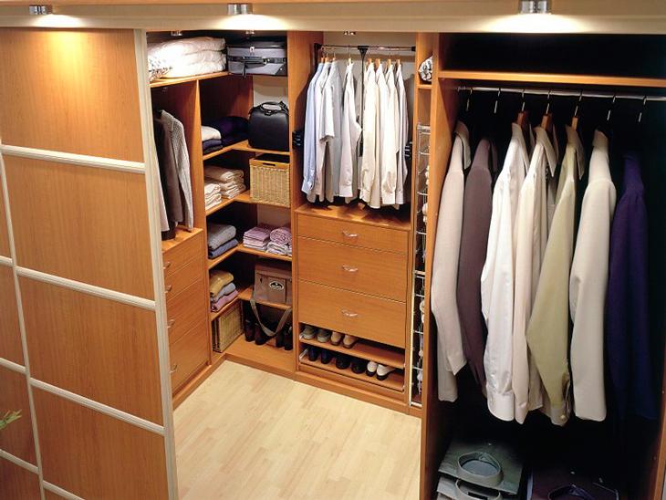 Советы профессионалов по обустройству гардеробной